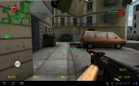 Counter Strike portable (0.7 beta) [Action / 3D, ENG][Android]