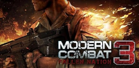 Modern Combat 3: Fallen Nation (1.0.0 - 1.0.1) [Action, Shooter, RUS] [Android]