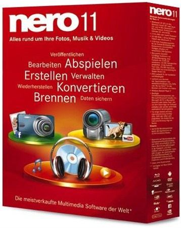 Nero 11.0.11200 Repack by GiX (2012/Rus)