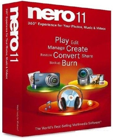 Nero Multimedia Suite v.11.2.00400 (x32/x64/ML/RUS) - Тихая установка